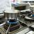 dish on gas stove in restaurant or hotel kitchen stock photo © kzenon