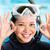 young indonesian diver says ok stock photo © kzenon