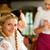 waitress in bavarian restaurant taking orders stock photo © kzenon