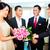 pessoal · saudação · asiático · hotel · amigável · casal - foto stock © kzenon