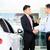 Asian Car Salesman selling auto to customer stock photo © Kzenon