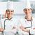 chefs · estufa · profesional · restauración · cocina · mujer - foto stock © kzenon