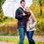 séta · legelő · hátsó · nézet · üzletember · piros · esernyő - stock fotó © kzenon
