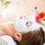 wellness   woman getting face mask in spa stock photo © kzenon