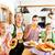 bavarian family in german restaurant stock photo © kzenon