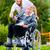 старший · пациент · колесо · Председатель · домой - Сток-фото © kzenon