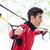 homme · suspension · entraîneur · sport - photo stock © kzenon