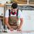 Carpenter or cabinet maker in his wood workshop stock photo © Kzenon