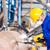 metal · trabalhador · fábrica · oleoduto · industrial · fabrico - foto stock © kzenon