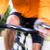 fast sport bicyclist on bike with motion blur stock photo © kzenon