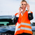 woman with car breakdown calling towing company stock photo © kzenon