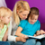 матери · чтение · книга · счастливая · семья · детей · сидят - Сток-фото © kzenon