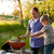 famille · barbecue · jardin · accent · grillés · alimentaire - photo stock © kzenon