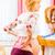pregnant woman wearing kinesio tape stock photo © kzenon