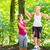 vrouw · fitness · bos · afbeelding · gezondheid · achtergrond - stockfoto © kzenon