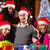 vrienden · christmas · winkelen · presenteert · mall · groep - stockfoto © kzenon