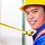 asian · indonezyjski · pracownik · budowlany · budynku · kask - zdjęcia stock © kzenon
