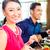 アジア · 人 · 高級料理 · レストラン · ディナー · 飲料 - ストックフォト © kzenon