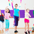 fitness · danza · estudio · zumba · clase · baile - foto stock © kzenon