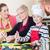 nagymama · főzés · kényelem · étel · konyha · család - stock fotó © kzenon