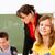 geconcentreerde · leerlingen · kind · groep · schrijven - stockfoto © kzenon