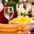 ソーセージ · ポテトサラダ · 赤 · 緑 · 玉葱 · キュウリ - ストックフォト © kzenon