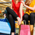 2 · 女性 · 友達 · 笑みを浮かべて · ショッピングバッグ · 肖像 - ストックフォト © kzenon