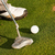 man · golf · afbeelding · mannelijke · golfbal · gat - stockfoto © kzenon