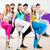 dansçı · zumba · uygunluk · eğitim · dans · stüdyo - stok fotoğraf © Kzenon