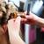 nő · fodrász · haj · stylist · női · vásárló - stock fotó © Kzenon