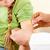 pédiatre · fille · enfant · patient · bureau - photo stock © kzenon