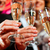 people with champagner in a bar stock photo © kzenon
