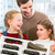 family buying model railroad in toy store stock photo © kzenon