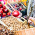 mujer · compras · mercado · frutas - foto stock © kzenon