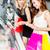 dwa · młodych · szczęśliwy · damska · znajomych · stałego - zdjęcia stock © kzenon
