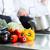 handlowych · kuchnia · zespołu - zdjęcia stock © kzenon