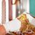 slager · biefstuk · vlees · vork · werken - stockfoto © Kzenon