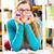 Studenten · langweilig · Pfund · Schreibtisch · Junge · Klassenzimmer - stock foto © kzenon