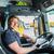 vrachtwagen · bestuurder · cap · logistiek · trots · industrie - stockfoto © kzenon