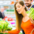 couple in supermarket shopping groceries stock photo © kzenon