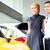 asiático · casal · escolher · roadster · carro - foto stock © Kzenon