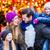 family eating cotton candy on christmas market stock photo © kzenon