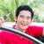 asian man showing key of his new car stock photo © kzenon