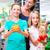 aile · bakkal · alışveriş · köşe · alışveriş · baba - stok fotoğraf © kzenon