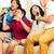 Asya · insanlar · şarkı · söyleme · karaoke · parti - stok fotoğraf © kzenon