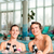 fitness   gymnastics under water in swimming pool stock photo © kzenon