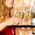 女性 · シャンパン · 女性 · ホーム - ストックフォト © kzenon