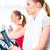 女性 · カーディオ · 訓練 · ジム · 2 · 若い女性 - ストックフォト © Kzenon