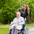 young woman is visiting her grandmother in nursing home stock photo © kzenon