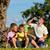 family on getaway with bikes stock photo © kzenon